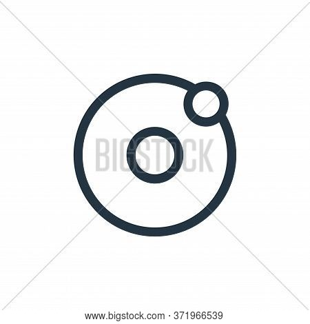 solar system icon isolated on white background from  collection. solar system icon trendy and modern
