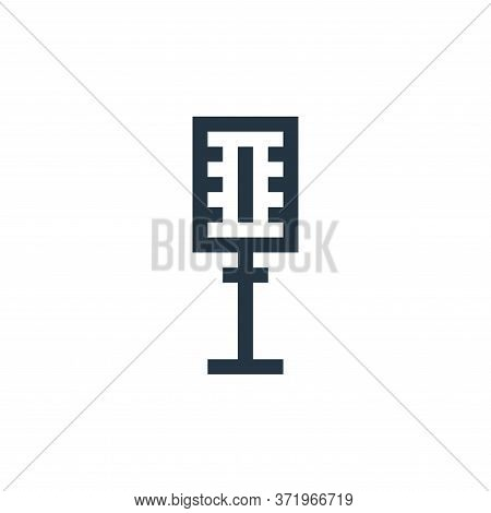 microphone icon isolated on white background from  collection. microphone icon trendy and modern mic