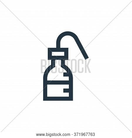 wash bottle icon isolated on white background from  collection. wash bottle icon trendy and modern w