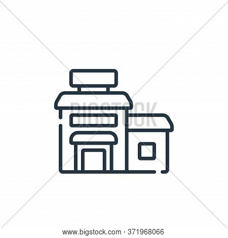 hotel icon isolated on white background from  collection. hotel icon trendy and modern hotel symbol