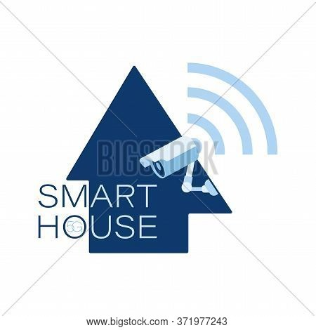 Security Camera. Smart House. 5g. Safety And Watching. 24 Hours Security Surveillance Camera. Cctv I