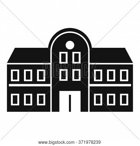 University Icon. Simple Illustration Of University Vector Icon For Web Design Isolated On White Back