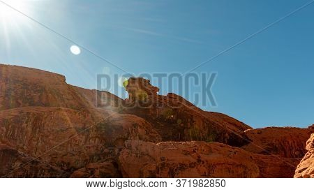 Red Rocks And Blue Skies In The Valley Of Fire