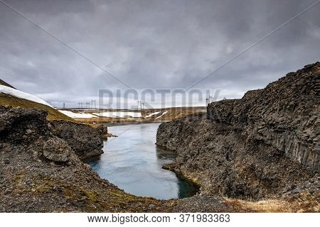 The Distant Power Lines That Changed The Valley In Iceland