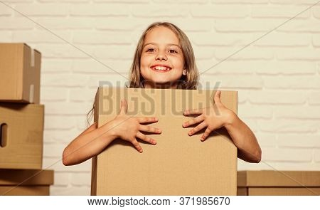 Packaging Things. Move Out Concept. Delivering Your Purchase. Kid Moving Out. Moving Routine. Prepar