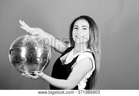 Lets Dance. Night Life Concept. Ready For Having Fun. Happy Birthday Party. Disco Dancing. Celebrati