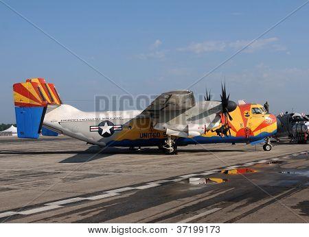 Us Navy C-2A Greyhound Cargo Airplane