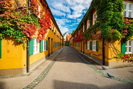 The Fuggerei Is The World's Oldest Social Housing Complex Still In Use. It Is A Walled Enclave Withi