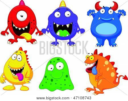 Monster cartoon collection