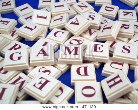 Games Letter Tiles