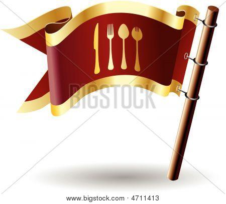 Royal-flag-eat-spoon-fork-knife-spork