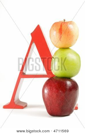 A For Apple Left