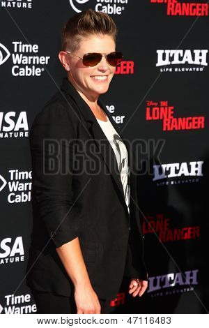 LOS ANGELES - JUN 22:  Natalie Maines arrives at the World Premiere of