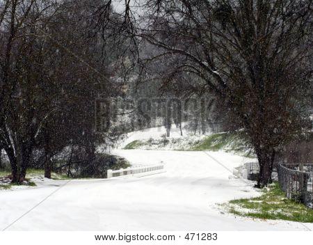 Snow Curve Bridge