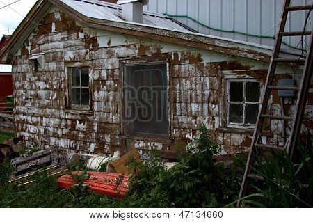 Paint Chipped Barn