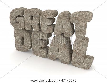 GREAT DEAL made of Stone / Concrete