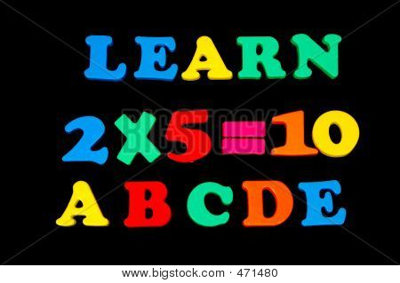 Toy Letters And Numbers - Learn