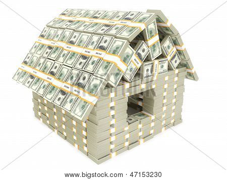 House built by American money