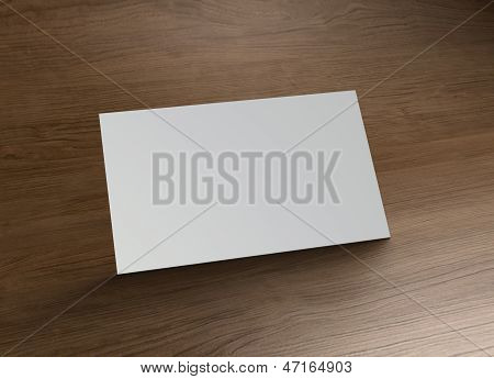 Name Card Stand Wood