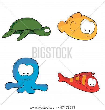 Sea Water Creatures