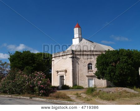 St. Peter's Anglican Church in Parham Town Antigua Barbuda in the Caribbean Lesser Antilles West Indies. poster