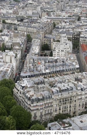 Paris Architecture From Above