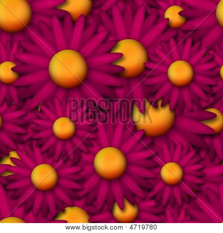 Crazy Pink And Yellow Repeating Wallpaper