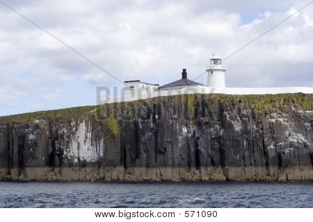 Lighthouse On Farne Islands