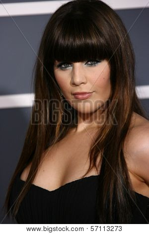 Hillary Scott at the 53rd Annual Grammy Awards, Staples Center, Los Angeles, CA. 02-13-11