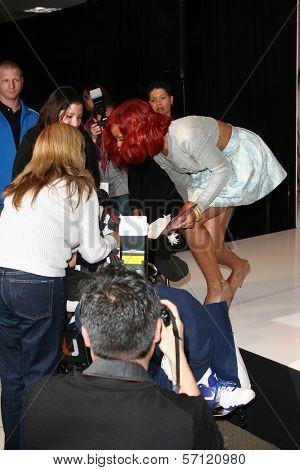 Rihanna at the Reb'l Fleur by Rihanna Perfume Launch, Macy's, Lakewood, CA. 02-18-11