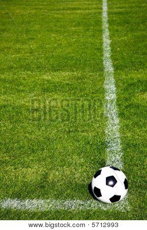 Soccer Ball Ready To Shoot