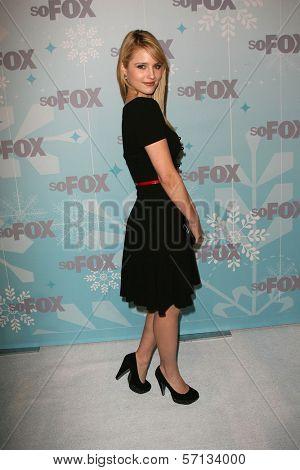 Dianna Agron at the 2011 FOX Winter All-Star Party, Villa Sorriso, Pasadena, CA. 01-11-11