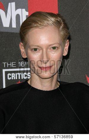 Tilda Swinton  at the 16th Annual Critics' Choice Movie Awards Arrivals, Hollywood Palladium, Hollywood, CA. 01-14-11