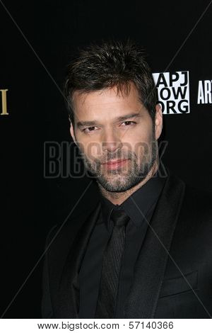 Ricky Martin at a Bvlgari Private Event Honoring Simon Fuller And Paul Haggis To Benefit Save The Children And Artists For Peace And Justice, Private Location, Beverly Hills, CA. 01-13-11
