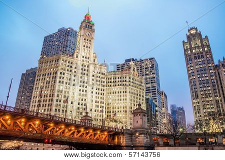 Downtown Chicago View