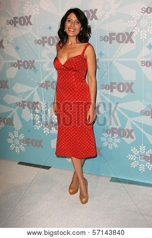 Lisa Edelstein at the 2011 FOX Winter All-Star Party, Villa Sorriso, Pasadena, CA. 01-11-11