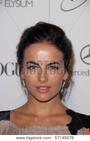 Camilla Belle at the 2011 Art Of Elysium