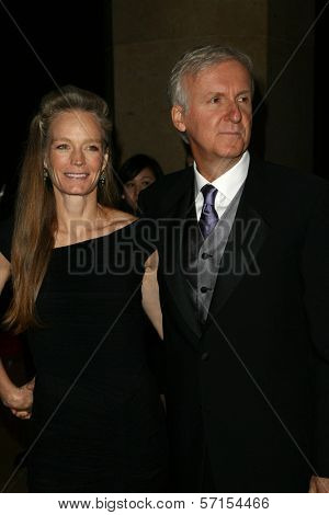 Suzy Amis, James Cameron at the 22nd Annual Producers Guild Awards, Beverly Hills, CA. 01-22-11