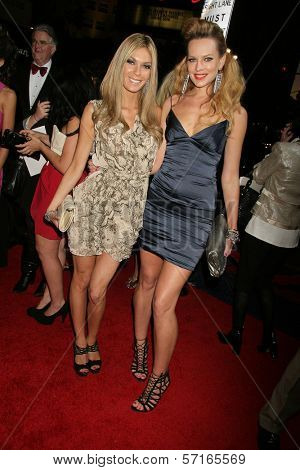 Jasmine Dustin and Natasha Alam at the 2nd Annual 3D Creative Arts Awards, Chinese Theatre, Hollywood, CA. 02-09-11