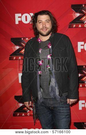 Josh Krajcik at The X Factor Season Finale, CBS Television City, Los Angeles, CA 12-22-11