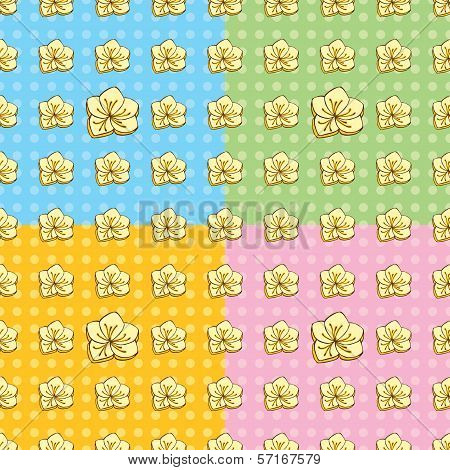 Seamless Buttercup Pattern