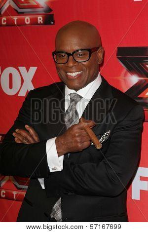 L.A. Reid at The X Factor Season Finale, CBS Television City, Los Angeles, CA 12-22-11