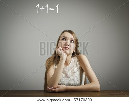 Girl Finding Solution