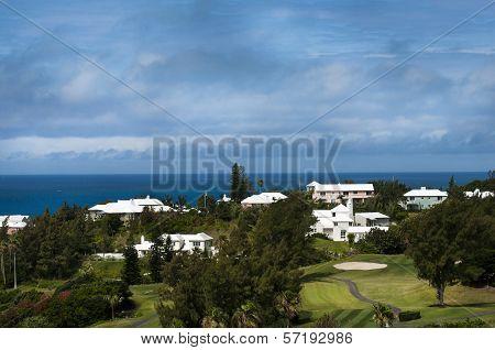 Colorful Houses in Bermuda