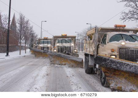Tormenta de nieve del invierno
