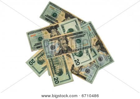 A Pile of Twenties