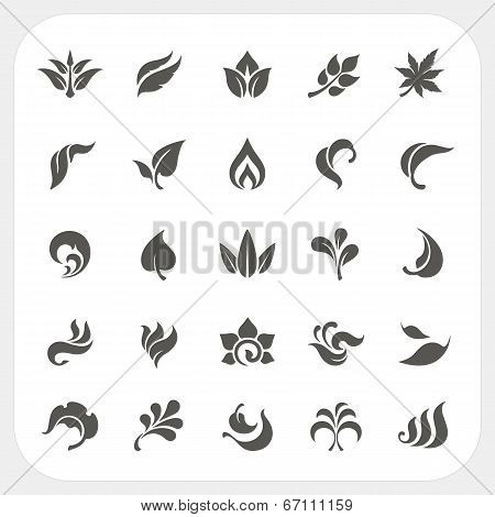 Leaf Icons Set