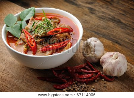 Delicious Thai Panang Curry