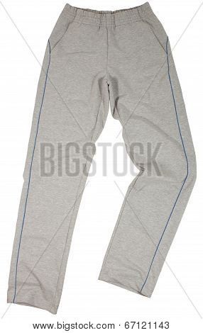 Sport sweatpants isolated on white background