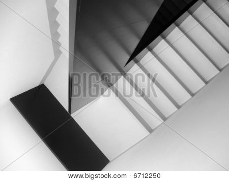 Black And White Staircase 2